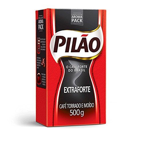 Café Pilão Extraforte (Extra Strength Coffee) 500 Grams