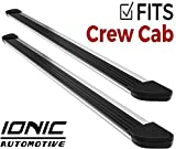 Ionic Gladiator Brite Running Boards 2015-2018 Chevy Colorado GMC Canyon Crew Cab