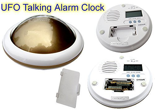 Amazon.com: Zonman® UFO LED Digital Talking Temperature Alarm Clock Time (Blue): Home & Kitchen