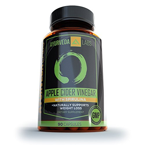 Apple Cider Vinegar Capsules Supports Weight Loss & Keto Diet Fat Loss Body Detox & Cleanse, Supports Body's pH Levels, Increased Energy, AIDS Digestion - 90 Capsules by Made for Her Nutrition