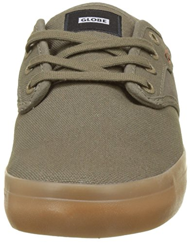 Brown Gum Uomo Sneaker Olive 0 Verde Globe Motley qxTYUTwX