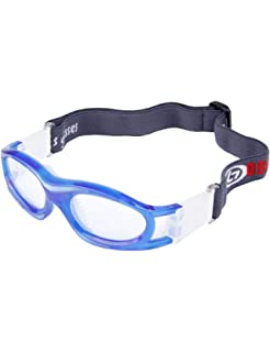 f0998af169cb Unisex Kids Sport Glasses Anti-Fog Protective Safety Goggles Adjustable  Strap for Basketball Rugby Soccer