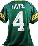 "Packers Brett Favre ""95,96,97 MVP"" Signed Jersey W/ Favre Hologram, Pic & COA - Autographed NFL Jerseys"