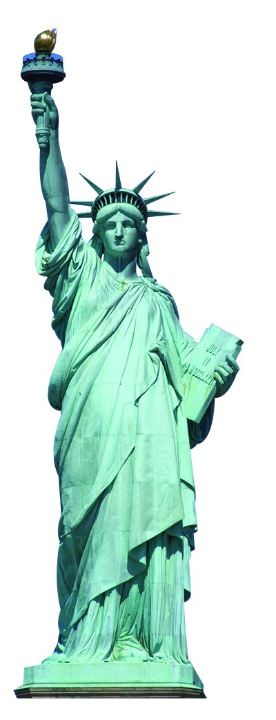 Aahs Engraving Statue of Liberty Cardboard Stand Up, 6 feet