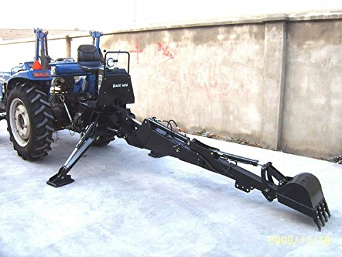 3 Point PTO Driven Hydraulic Backhoe Excavator Attachment BH6600 Skid Steer (Backhoe Steer)