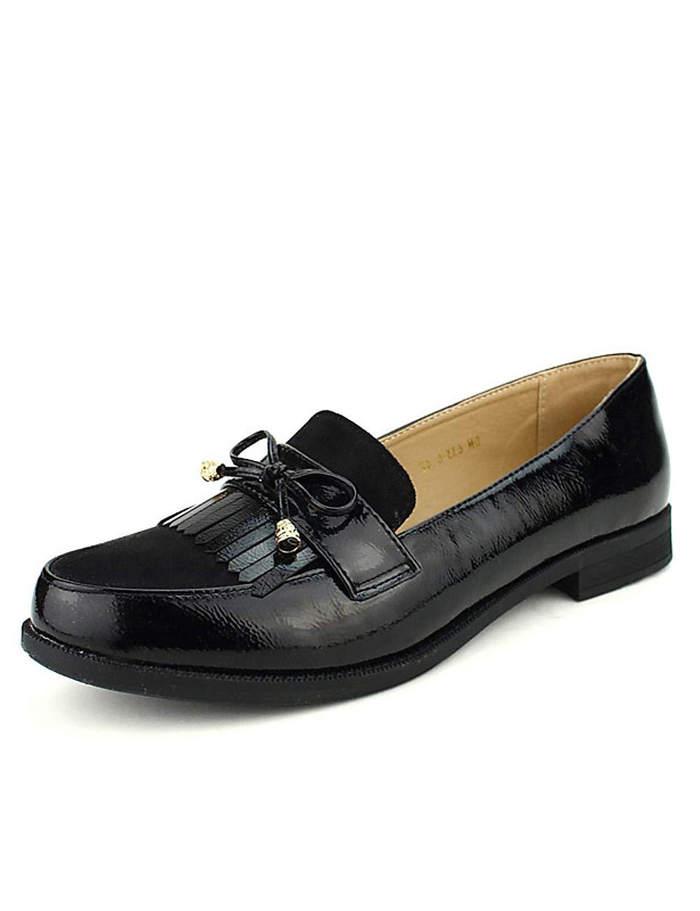 Cendriyon, CINKS Derbies Noires Noires CINKS Grande Pointure Chaussures Noir Femme Noir b016b6f - boatplans.space