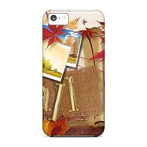 Durable Autumn Time Back Case/cover For Iphone 5c wangjiang maoyi