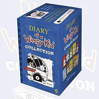 Jeff Kinney 10 Books Set Diary of a Wimpy Kid Collection