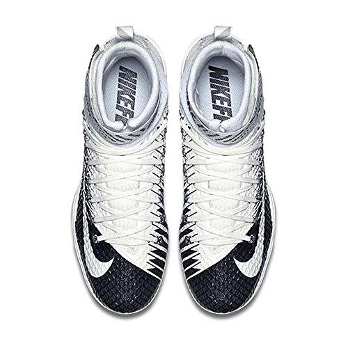 Nike Football Elite Cleat Navy Men's 11 Lunarbeast White 84Bqx8r