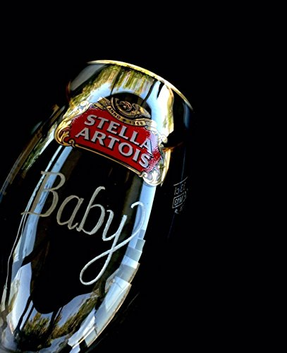 Stella Artois Chalice Engraving, STELLA CHALICE 40CL, chalice engraving, stella artois engraved, engraved beer glasses, Personalized Chalice Hand Engraved Free hand by Akoko Art Handengraved Crystal Glass (Image #5)