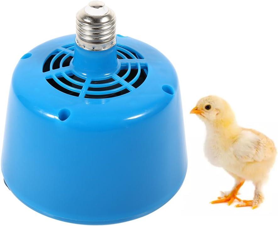 Broco Lámpara de Calor para Mascotas, E27 Lámpara de Calor para Aves de Corral para criadores Lámpara para Aves de Corral Bombilla Criadora Lechones ...