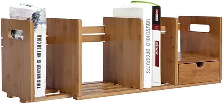 SHGK Madera Bambú Librería Escritorio Estantería Mostrador ...