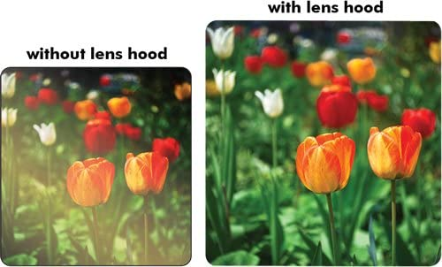 Tronixpro 67mm Pro Series Hard Tulip Lens Hood For Olympus 14-54mm f//2.8-3.5 II Zuiko Digital Zoom Lens