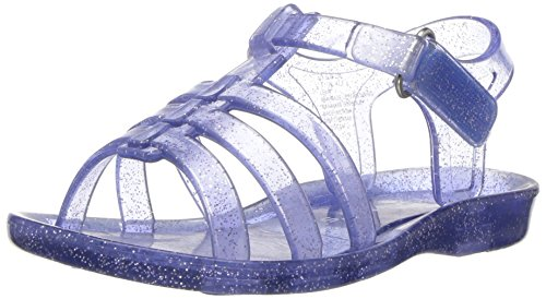 carter's Kids' Lexi Girl's Glitter Open Toe Jelly Sandal