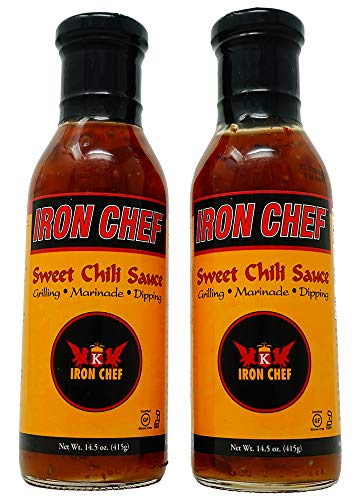 - Iron Chef Sweet Chili Sauce 14.5 ounce, 2 pack Bundle