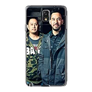 Best Hard Phone Case For Samsung Galaxy Note3 With Customized HD Linkin Park Band Pattern KevinCormack