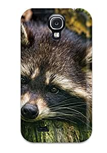 Fashionable Style Case Cover Skin For Galaxy S4- Raccoon