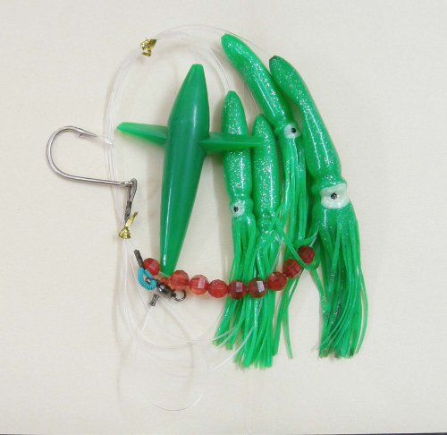 Bird Daisy Chain – Green – 1pc – w/Single Lure Bag – Item # 216