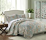 Barefoot Bungalow 3 Piece King Naomi Spa Quilt Set