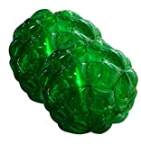 Suyi 36'' diam 0.9M Inflatable Body Bubble Soccer Ball Sumo Bumper Ball Heavy Duty Durable PVC Vinyl For Kids Adult Outdoor Play Ball Games Two Pack Green