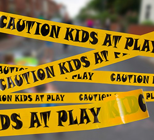 Caution Kids at Play! Party Tape 3