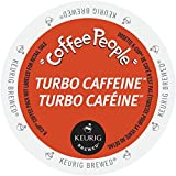 Coffee People Turbo Caffeine K-cups for Keurig Brewers, 96 Count
