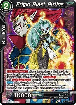 Dark Control Demon God Demigra BT4-106 Rare Dragon Ball Super TCG Near Mint