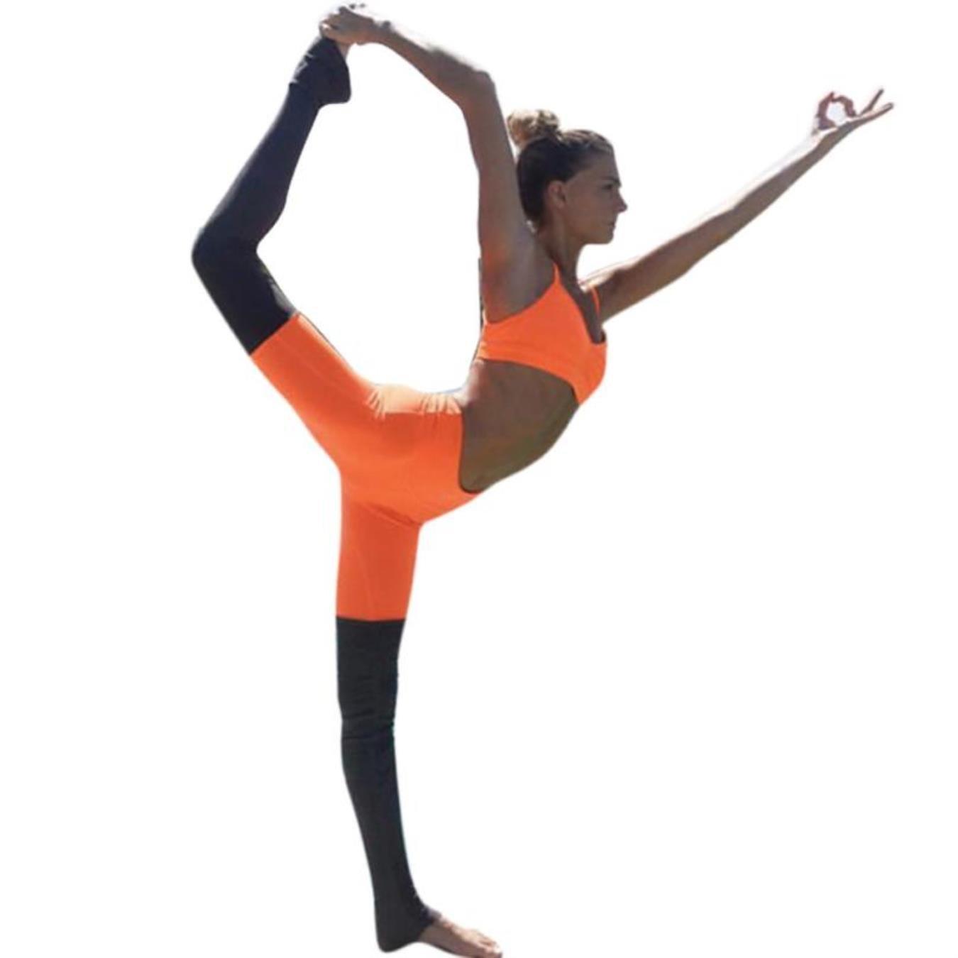 MoomMgqe Women Stitching Leggings Yoga Pants