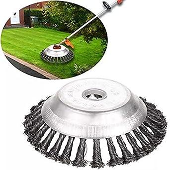25MM 8/'/' Steel Wire Trimmer Head Grass Brush Cutter Dust Weeding Disc Lawnmower