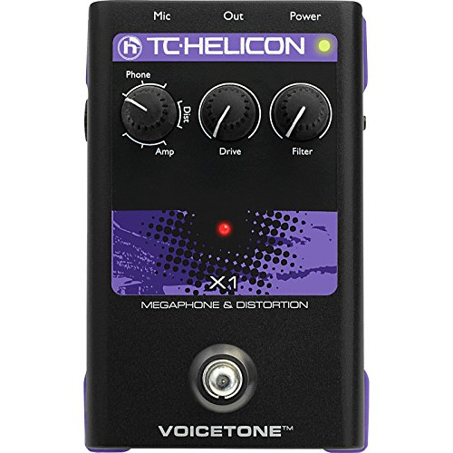 TC Helicon VoiceTone X1 | Vocal Distortion Floor Pedal