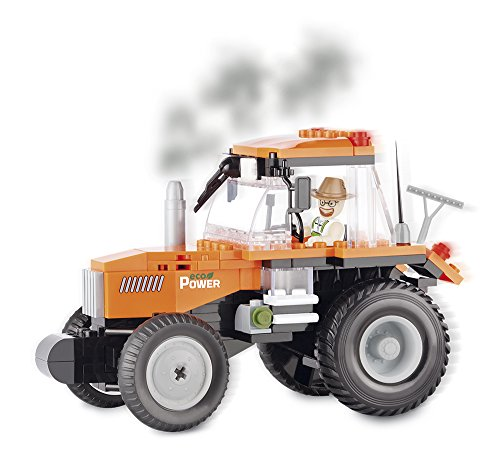 204b7cd1fea893 Cobi - - 1861 - - Tracteur - Orange - 160 pièces B017GFA1VE 7c6be2 ...