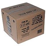 "JT Eaton 111-00 Stick-Em Rat/Mouse Size Double Glue Trap Tray, 10"" Length x 5"" Width x 3/4"" Height, Black"