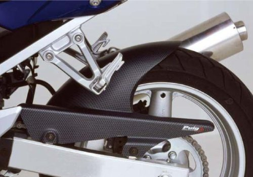 Fiber Carbon Cbr600rr - Puig Rear Carbon Fiber Look Hugger for 2007-2014 Honda CBR600RR - One Size - One Size