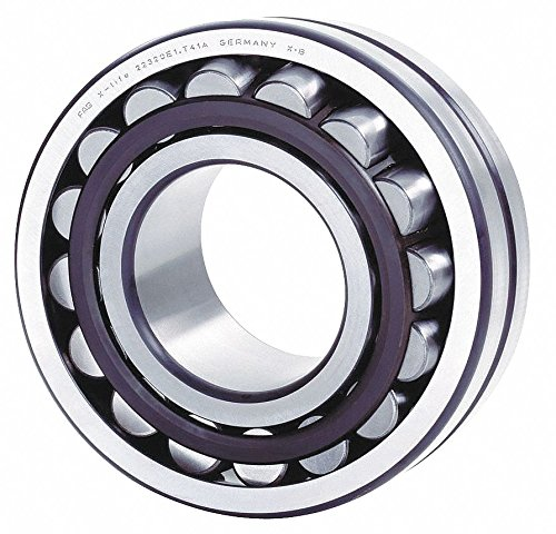 FAG 22206E1-C3 Spherical Roller Bearing, Straight Bore, Steel Cage, C3 Clearance, Metric, 30mm ID, 62mm OD, 20mm Width