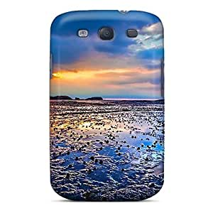 New EtzJamI462xSKvR Cloudy Sunset Tpu Cover Case For Galaxy S3