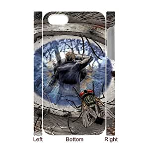 Walking Dead TY5080730 3D Art Print Design Phone Back Case Customized Hard Shell Protection Iphone 4,4S