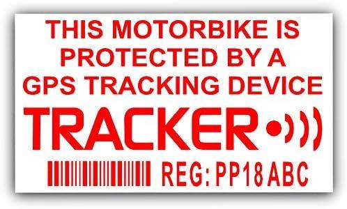 4 x / GPS falso personalizada Rastreador Dispositivo Unidad de Seguridad sistema de alarma de advertencia de