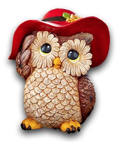 Fall Winter Autumn Thanksgiving Pumpkin Harvest Home Accent Decoration (Shelf Tabletop Owl Figures)