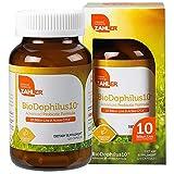 Zahler Biodophilus10, All Natural Advanced Probiotic Acidophilus Supplement, Promotes Digestive Health, 10 Billion Live Cultures and Intestinal Flora Per Serving, Certified Kosher,120 Capsules