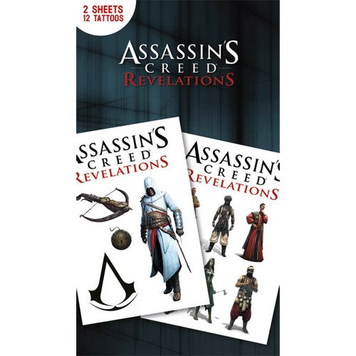Assassins Creed - tatuaje pegatinas 1: Amazon.es: Hogar