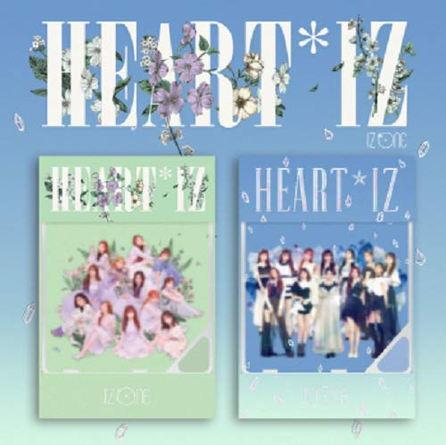 Off The Record [KIHNO Album] IZONE IZONE - HEARTIZ [Violeta+Sapphire ver. Set] (2nd Mini Album) 2KIHNO KIT+24Photocards+Double Side Extra Photocards Set