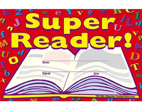 - Teacher Created Resources Super Reader Awards (1935)