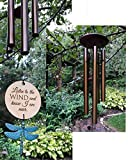 Memorial Wind Chime Chimes in Memory PRIME Teal Patina Rush Shipping for Funeral Loss in Memory of Loved One Copper Listen to the Wind Memorial Garden Remembering a loved one