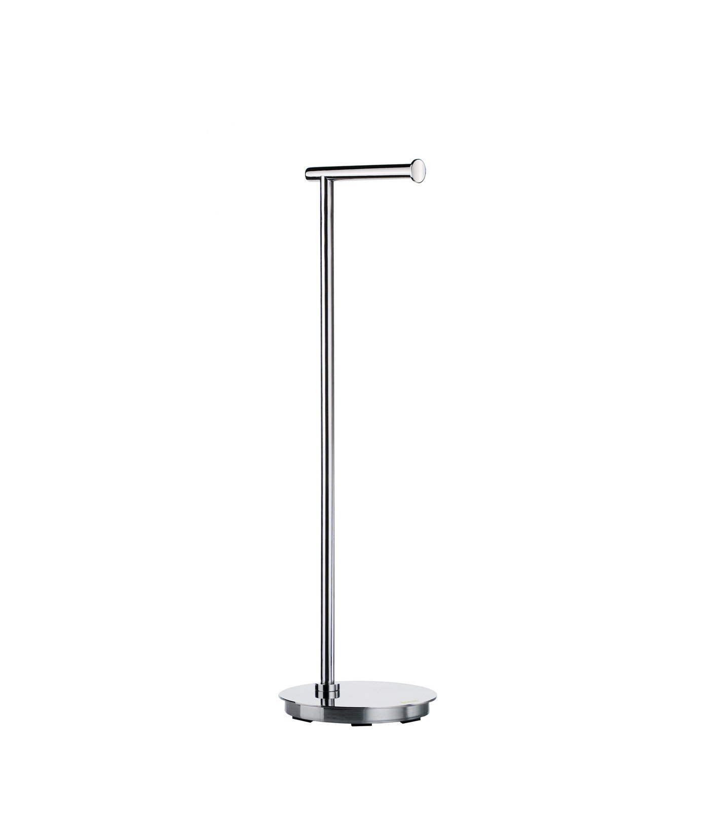 Smedbo SME_FK606 Free Standing Toilet Roll Euro Holder, Stainless Steel Polished