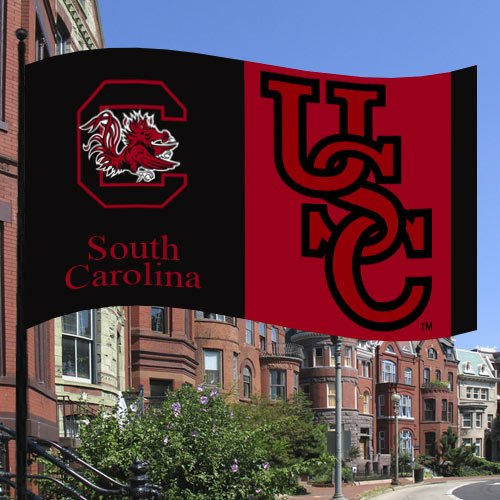 NCAA South Carolina Gamecocks Flag with Grommets
