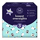Honest Overnight Baby Diapers, Club Box, Sleepy Sheep, Size 3, 60 Count