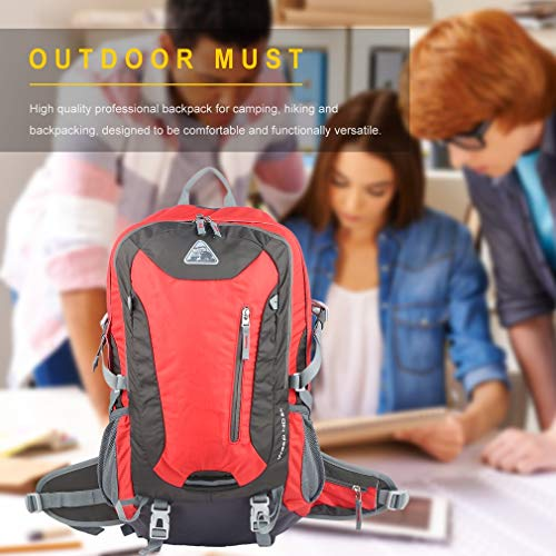 YTYC Waterproof Mountaineering Backpack Breathable Back Support Large Capacity Bag by YTYC (Image #3)