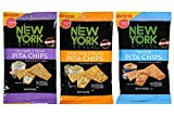 New York Style Pita Chips – Sea Salt, Chia Seeds & Quinoa and Ancient Grains & Flaxseed (Variety Pack of 3) Review