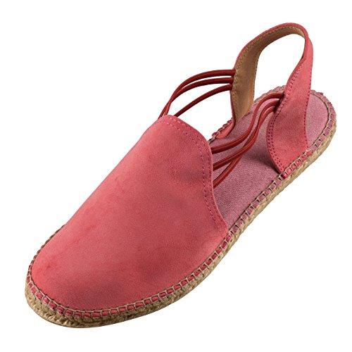 de Koralle Rojo correa con Zapatos Pons Tony tobillo Mujer v8xSIqRf