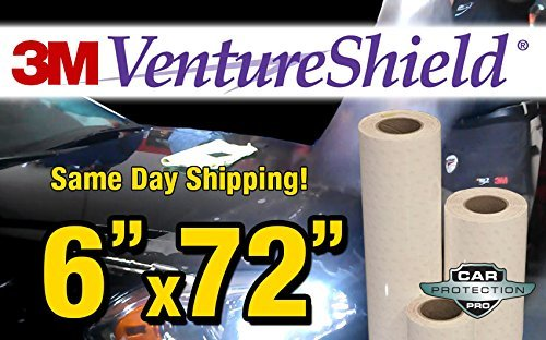 3M Ventureshield Clear Bra Paint Protection Bulk Film Roll 6-by-72-inches BHBAZUKAZIND476